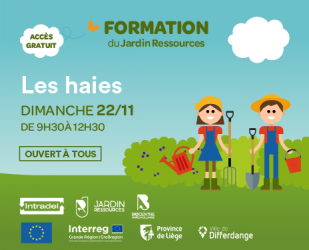 Formation : La haie libre sauvage (complet)