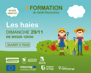 Formation : La haie libre sauvage : COMPLET