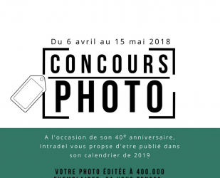 CONCOURS Intradel a 40 ans